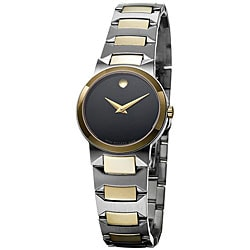 Movado Women's 'Temo' Two-tone Steel Watch