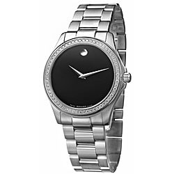 Movado Men's Junior Sport Stainless Steel Quartz Watch