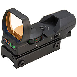 Truglo Multi-Reticle/ Dual Color Open Red Dot Sight