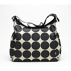OiOi Sand Dot Hobo Diaper Bag