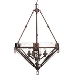 Labyrinth 8-light Foyer Pendant Light Fixture