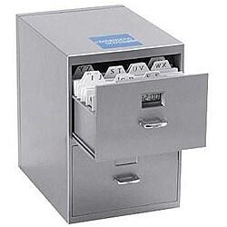 Miniature File Cabinet PI-9617 Digital Clock