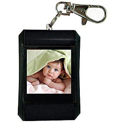 Zeikos Black Digital Picture Viewer Keychain