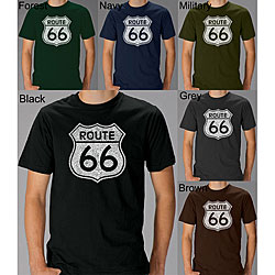 Los Angeles Pop Art Men's Route 66 T-shirt