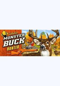 Wii - Cabela`s Monster Buck Hunter with Gun