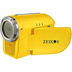Zeikos ZE-SDCZ10-Y Yellow Digital Video Camera