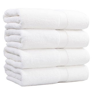 Authentic Hotel and Spa Turkish Cotton Bath Towel (Set of 4)