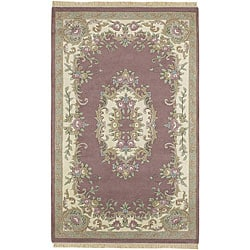 Hand-knotted AUB New Zealand Wool Rug (2'6 x 12')