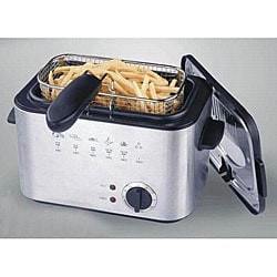 E-Ware 1.2-liter Mini Deep Fryer