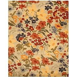 Hand-tufted Josie Ivory Wool Rug (4' x 6')