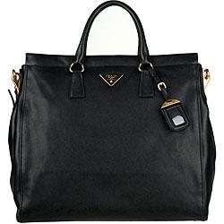 prada-handbag.com - Prada Saffiano Soft Leather Tote - 12646796 - Overstock.com ...