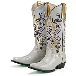 Lane Women's 'Imperial' Leather Cowboy Boots