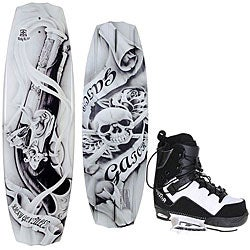 Gator Gonzalez 143 CT Bindings and Wakeboard