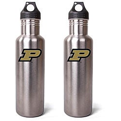 Purdue Boilermakers 27-oz Stainless Steel Water Bottles (Pack of 2)
