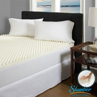 Slumber Solutions QUEEN MEMORY FOAM MATTRESS TOPPER