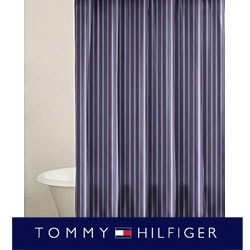 Tommy Hilfiger Christopher Stripe Shower Curtain