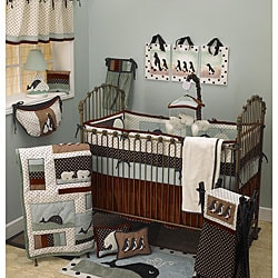 Cotton Tale Arctic Babies 8-piece Crib Bedding Set