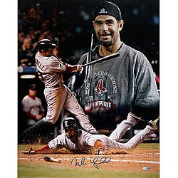 Boston Red Sox Mike Lowell 2007 World Series MVP 16x20 Hand-signed Collage