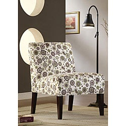 ETHAN HOME Decor Bubble Print Lounge Chair