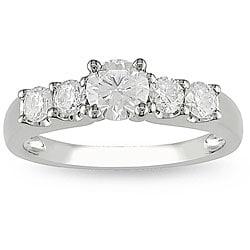 Miadora 14k Gold 1ct TDW Diamond Engagement Ring (H-I, I1-I2)
