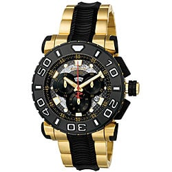 Invicta Men's Reserve 18k Goldplated Chronograph Watch