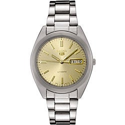 Seiko Men's 'Seiko 5 Collection' Automatic Stainless Steel Watch
