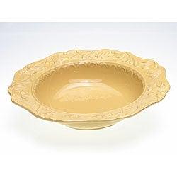 Certified International Firenze Gold 14-inch Serving Bowl