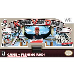 Wii - Kvd Fishing With Fishing Rod - By Zoo Games