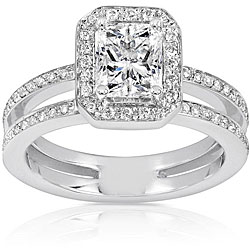 14k Gold 1 1/3ct TDW Diamond Engagement Ring (H-I, I1-I2)