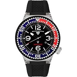 Swiss Legend Men's Neptune Black Silicone Watch