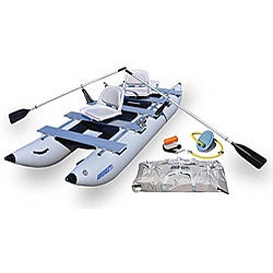 Sea Eagle FoldCat 375FC Foldable Pontoon Boat
