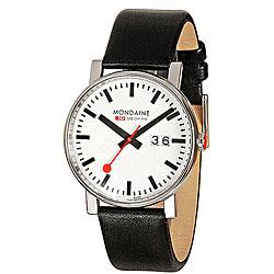 Mondaine Men's 'Railway Evo' Stainless Steel Watch