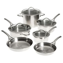 Calphalon 'Contemporary Stainless' 10-piece Cookware Set
