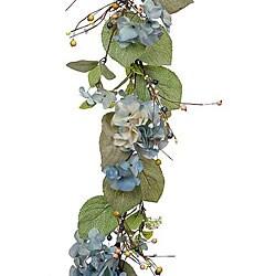Blue Hydrangea Garland