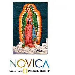 Wool 'Our Lady of Guadalupe' Tapestry (Peru)