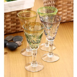 Global Amici 'Sunrise' Goblets (Set of 4)