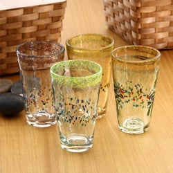 Global Amici Sunrise Ice Tea Glasses (Set of 4)
