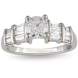 14k White Gold 1ct TDW Diamond Engagement Ring (G-H, I1-I2)