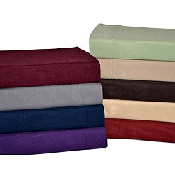 Perry Ellis Microfiber Polyester 4-Piece Sheet Set