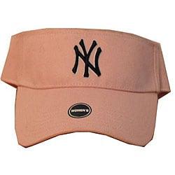 New York Yankees Pink Women's Visor Cap