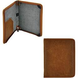 Apple iPad Premium Leather Zipper Case