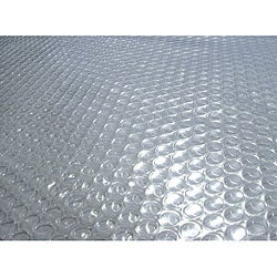 In-ground Rectangular 30' x 50' 14-mil Clear Solar Blanket