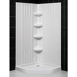 Dreamline Shower Back Wall And Neo Angle 38 Inch Corner