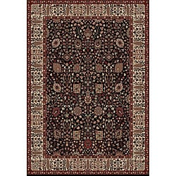 Vase Black Rug (5&#39;3 x 7&#39;7)