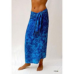 Aqua Blue Sarong (Indonesia)