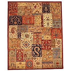 Hand-tufted Lasi Multicolor Wool Rug (5' x 8')