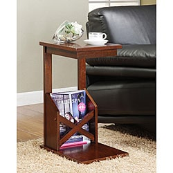 ETHAN HOME Tulsa Cherry Finish End Table