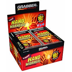 Grabber 10+ Hours Large Hand Warmers (Case of 320 Pair)