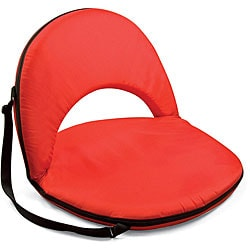 Picnic Time Oniva Portable Red Recreation Recliner