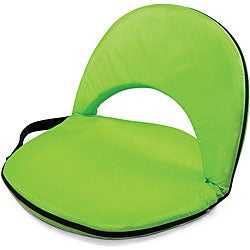 Picnic Time Oniva Portable Lime Recreation Recliner Seat